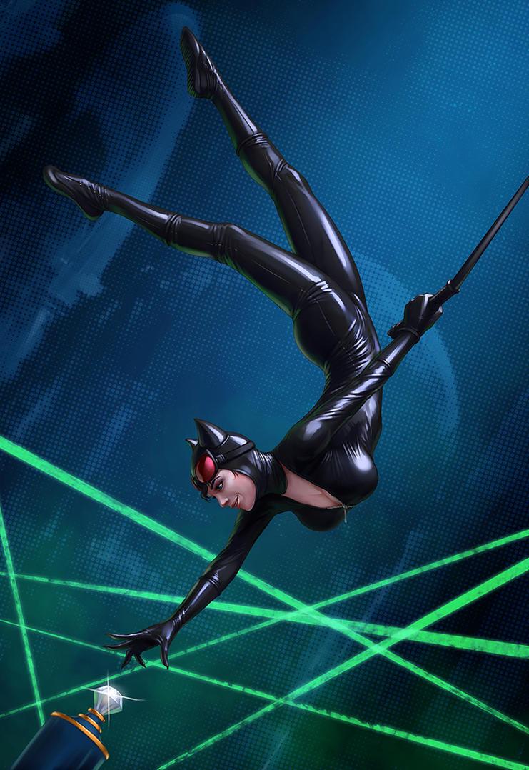 Catwoman by DmitryGrebenkov