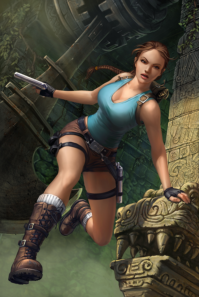 Lara Croft by DmitryGrebenkov