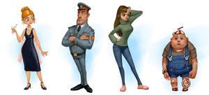 Characters by DmitryGrebenkov