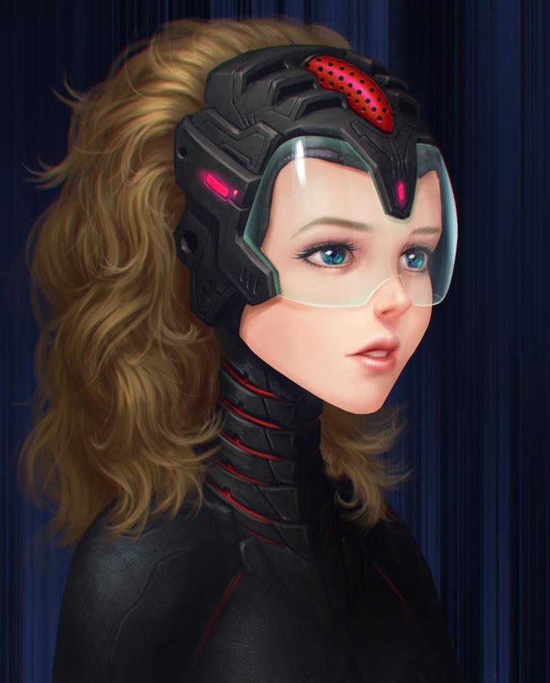 35  Mindblowing Examples of Sci-fi Digital Art Characters   Web ...