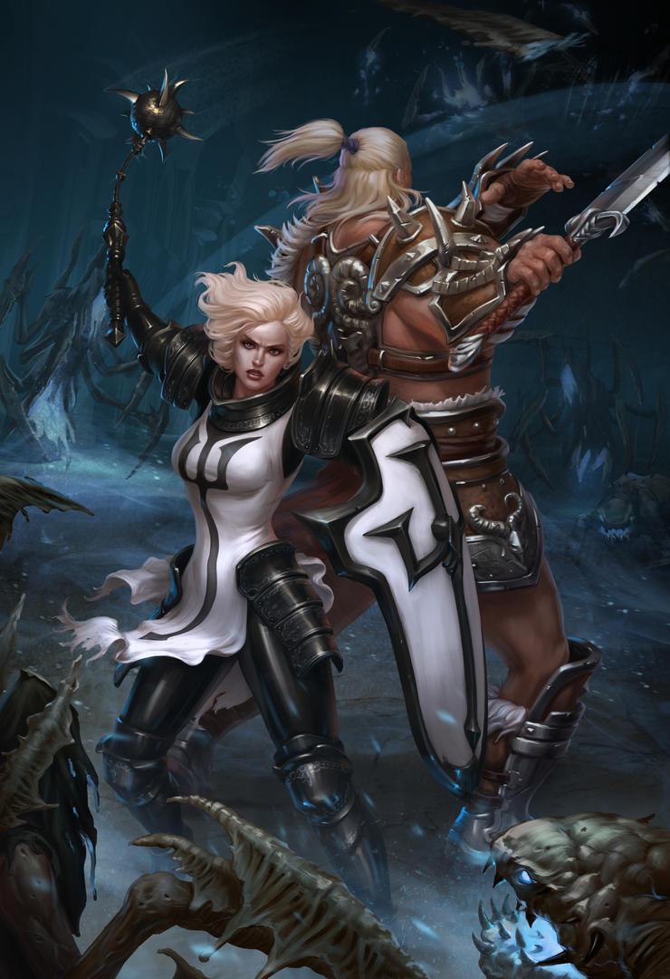 Diablo 3: Reaper of Souls contest by DmitryGrebenkov
