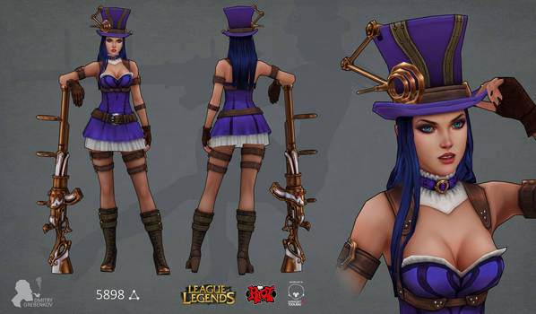 Riot contest Caitlyn