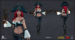 Riot contest Miss fortune
