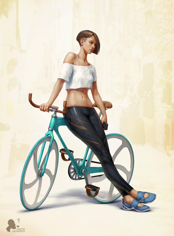 Bike by DmitryGrebenkov