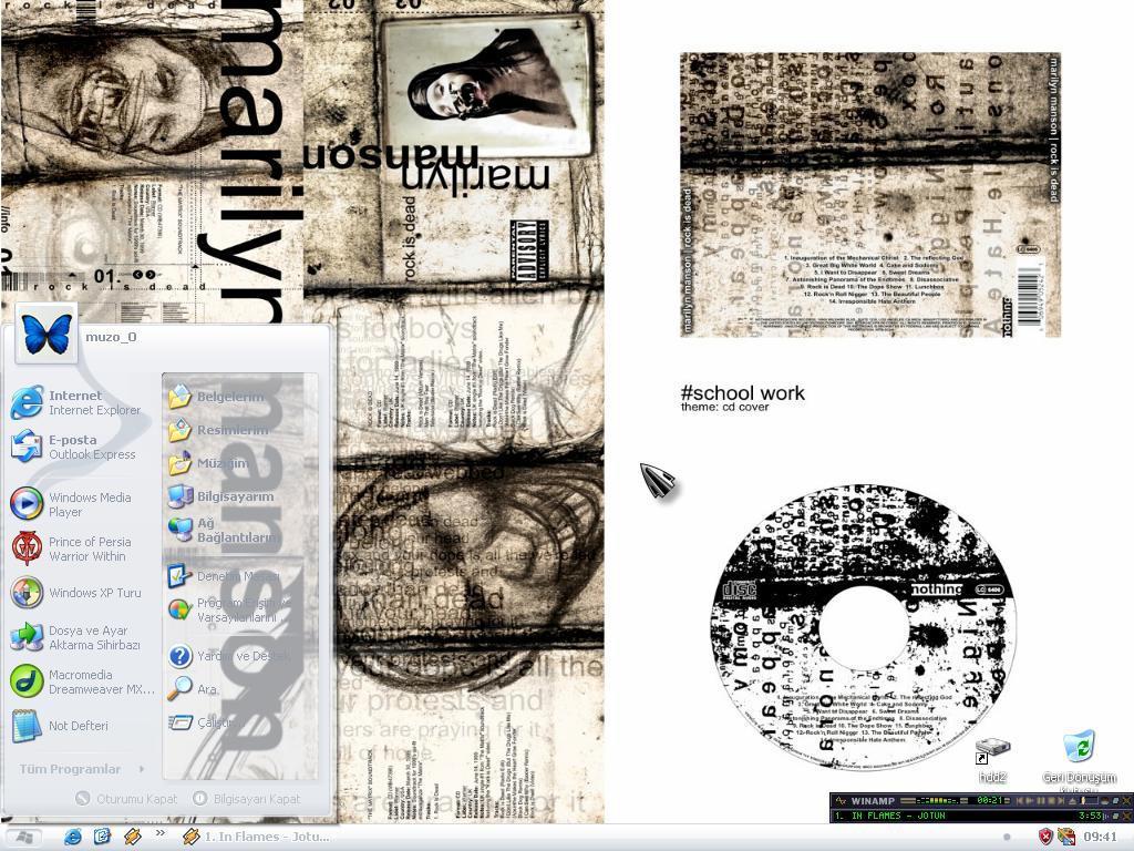 Desktop by muzoO