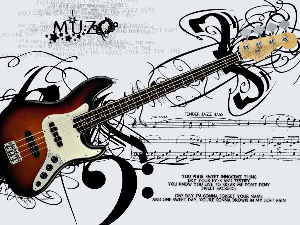 Fender Bass Wallpaper By Muzoo On Deviantart
