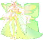 Peridot Butterfly Fairy OTA (Closed/Sold) by RumCandyAdopt