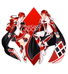 SilverLight Crimson Knights Auction (sold) by RumCandyAdopt