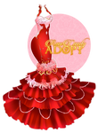 Blooming Rosa Dress by RumCandyAdopt