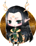 Dark Elven Lord + Video by RumCandyAdopt