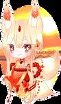 Oriental Sunset Kitsune + Video by RumCandyAdopt