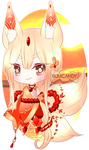 Oriental Sunset Kitsune + Video by RumCandyAdopt