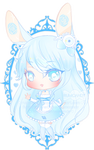 C: Blue Bunny + Video by RumCandyAdopt
