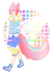 C: Rainbow Child + Speedpaint by RumCandyAdopt