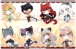 Harvest Chibis (OPEN) by RumCandyAdopt