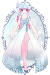 Frozen Crystal Outfit R56 (SOLD) by RumCandyAdopt