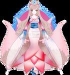 Elegant Lotus Outfit R185 (sold) by RumCandyAdopt