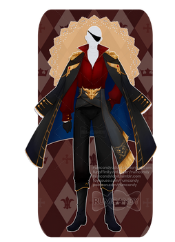 C: Dark Pirate Outfit