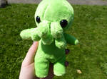 Cthulhu Plush -H.P Lovecraft Fan Art