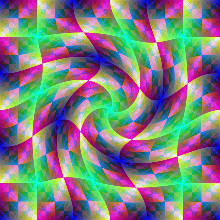 Rainbow Prism Twirl