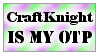 .:CraftKnight is my OTP:. by MissUnicornWizard