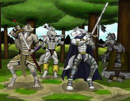 A friendly battle final by SymbolHero