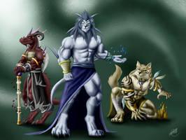 The Three Grandes Maestros by SymbolHero