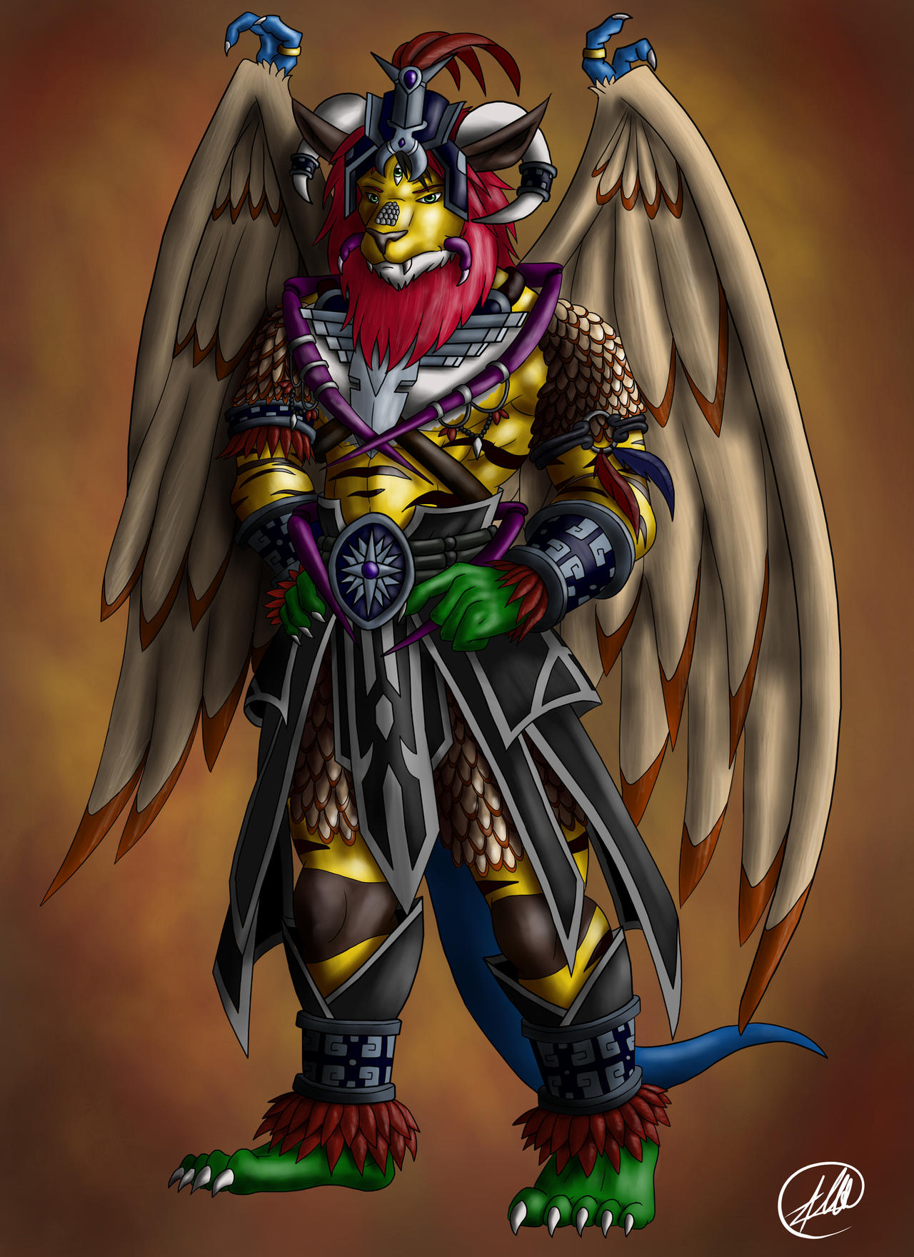 Mayan Warrior Art An ancient mayan warrior by