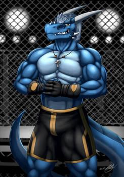 Antonio the Blue Drake