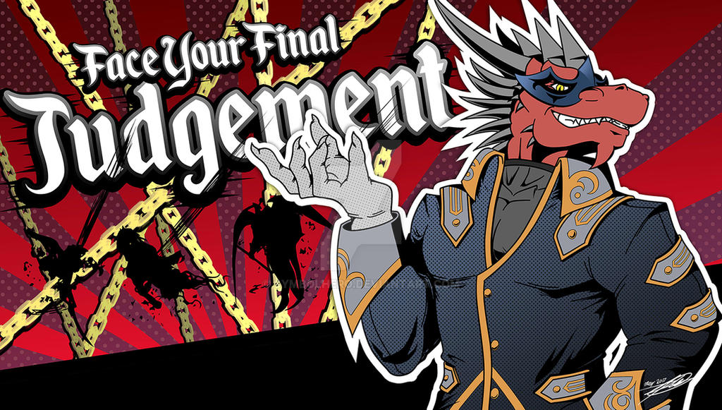 Face Your Final Judgement by SymbolHero
