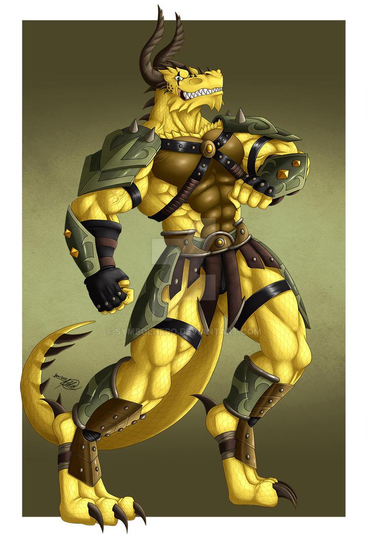 Drake Earth Drakanian by SymbolHero