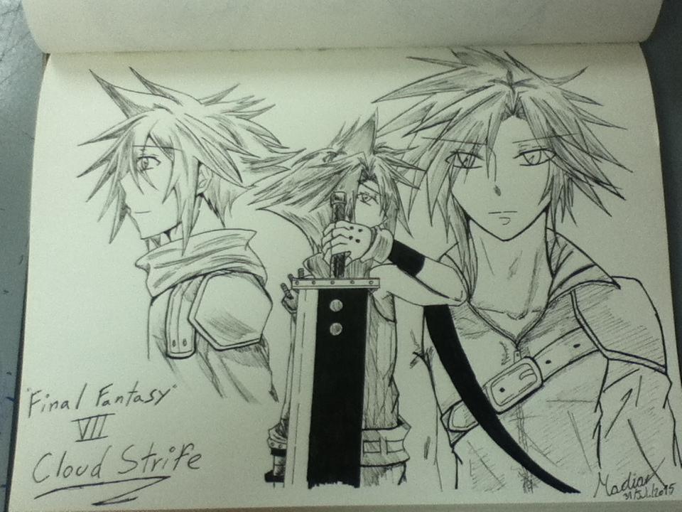 Final Fantasy VII Cloud by beautifulsarah93