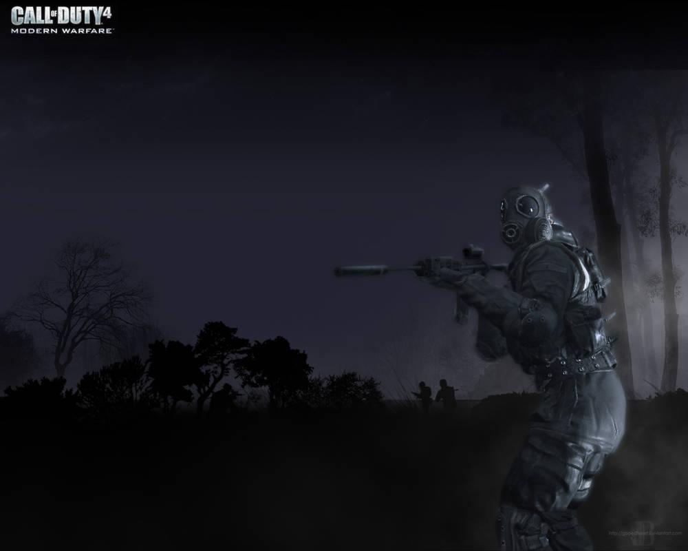 Call Of Duty 4 Wallpaper By Michaeldebevec On Deviantart