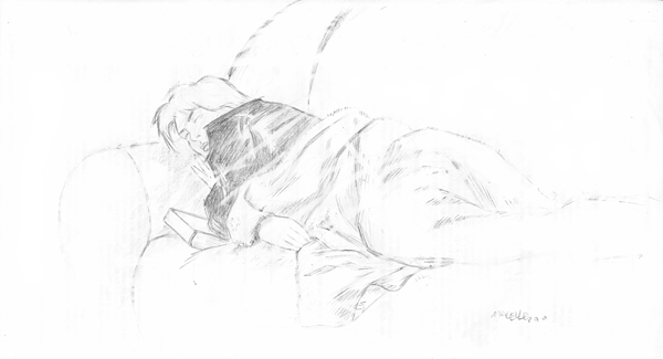 Clarissa sleeping 2 by marcelloabreu