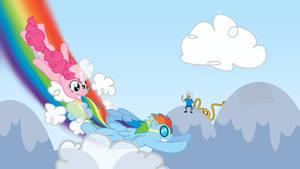 Pinkie and Dashie Roadtrip