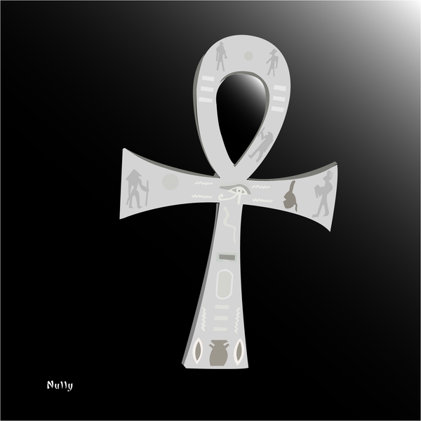 Egyptian ankh by nully...