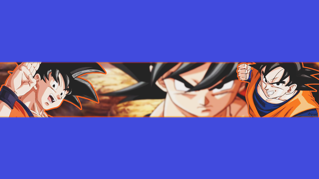 banner para youtube de goku by saberalma on DeviantArt