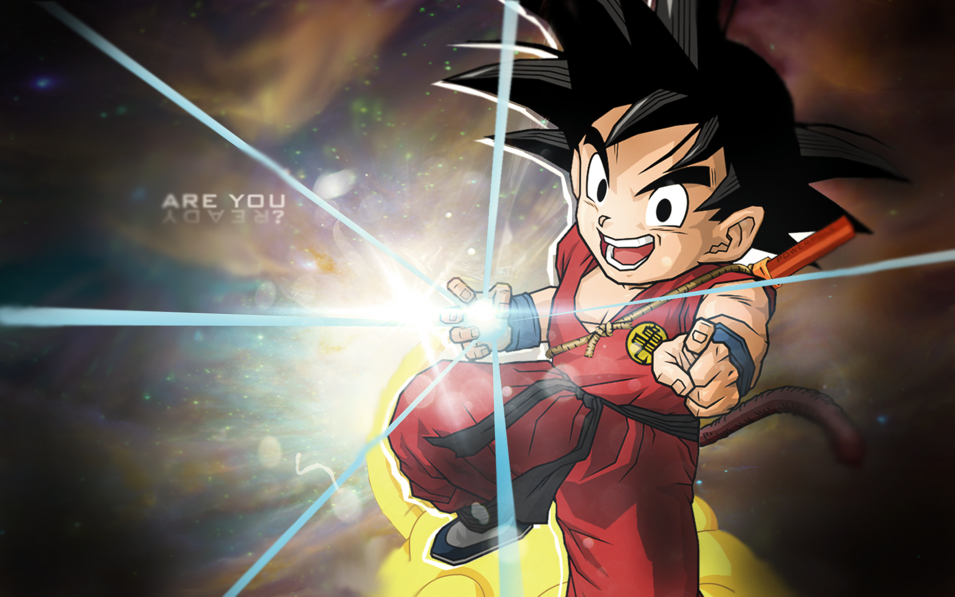Kid Goku Wallpaper By Kevenp On Deviantart