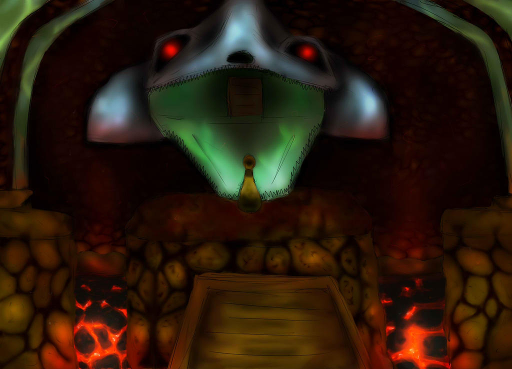 Dodongo's Cavern by Fantasylover64