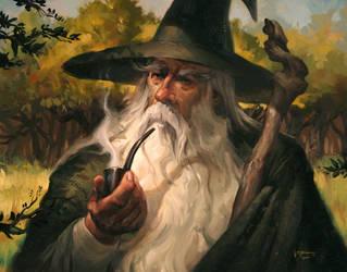 Gandalf the Grey by LucasGraciano