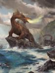 Sea Serpent by LucasGraciano
