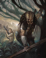 Predator: Fire and Stone #2 by LucasGraciano