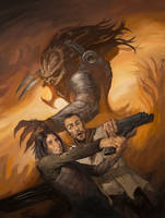 Predator: Fire and Stone #3 by LucasGraciano