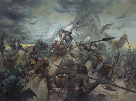 The Last Stand of Thorin Oakenshield