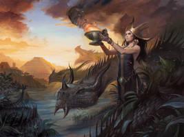 Dragon Queen by LucasGraciano