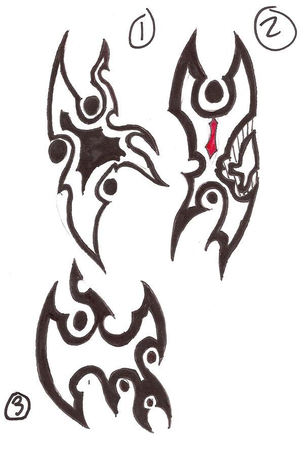 Hellstrok Symbols by EliKai