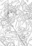 Link Breath of the wild - outlines