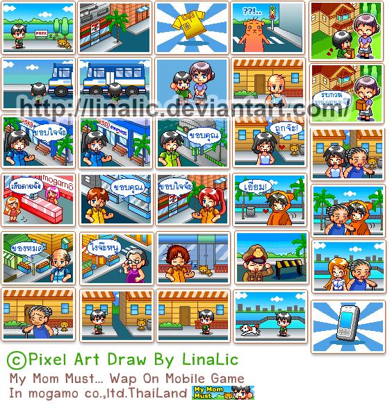 Pixel Art Wap on Mobile game by linalic on DeviantArt