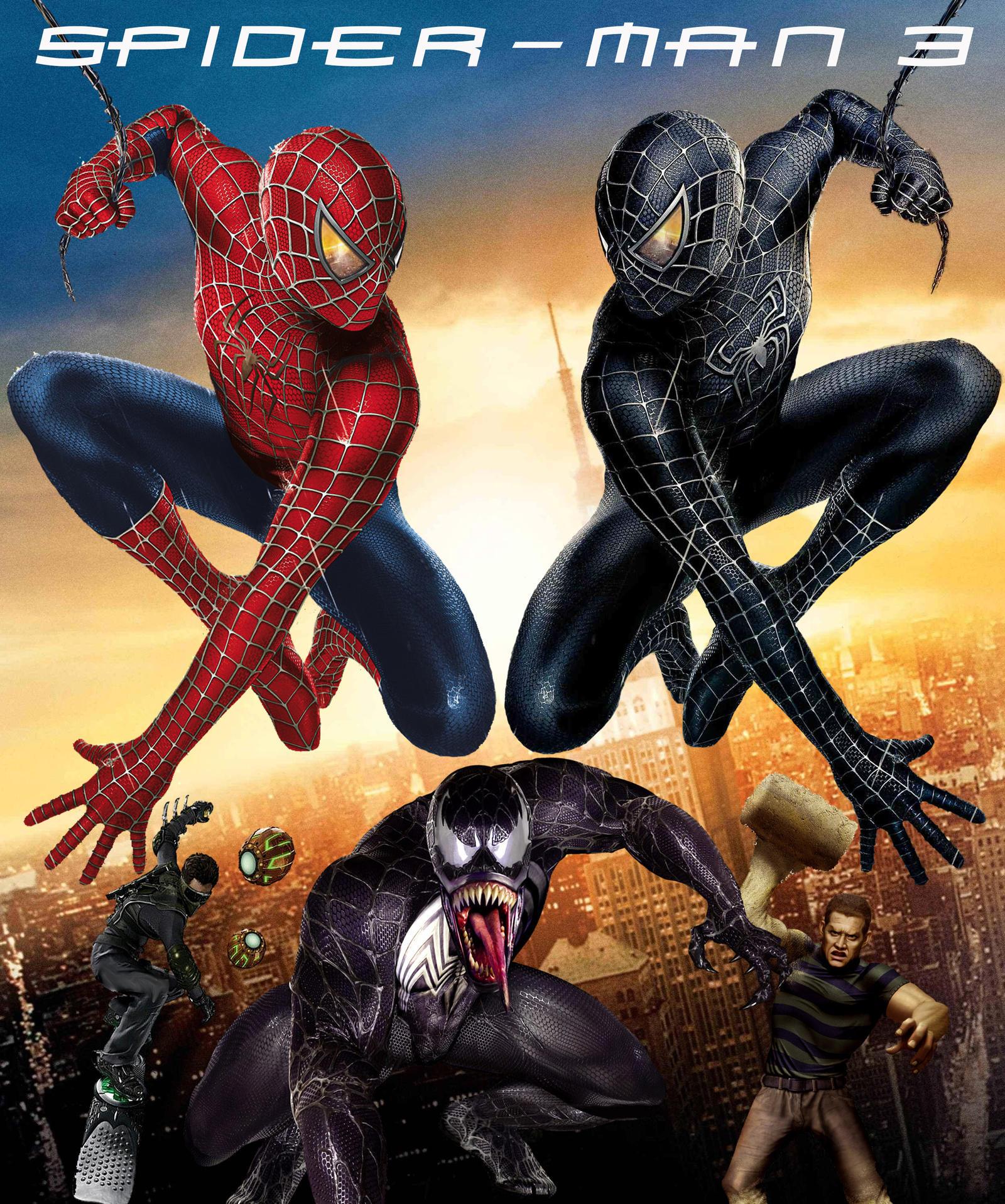 image gallery spider man 3 2007 poster. Black Bedroom Furniture Sets. Home Design Ideas