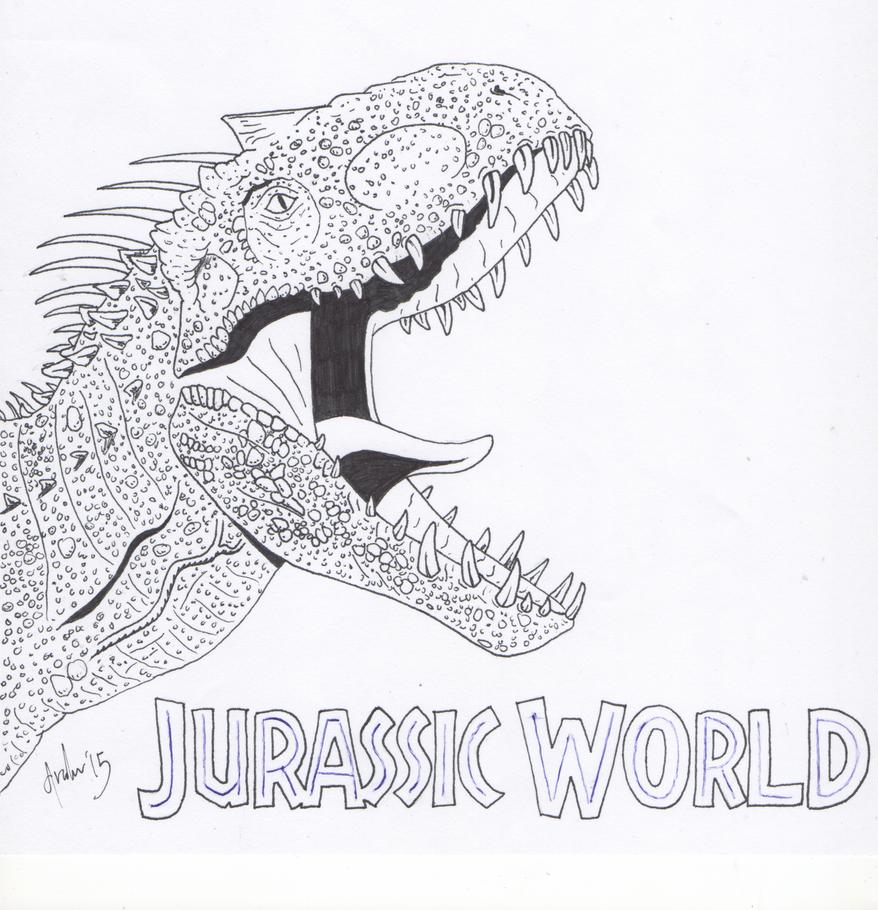 Indominus Rex by predatorX20 on DeviantArt